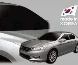 AutoClover Korea for Honda Accord 4door sedan 2012 2013 2014 Smoke Window Vent Sun Visors Rain Guards Out channel Visor a162