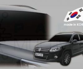 AutoClover Korea for VW Tiguan 2012 2013 2014 2015 2016 Smoke Window Vent Sun Visors Rain Guards Out channel Visor a188