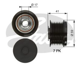 GATES Alternator Pulley: OAP7078