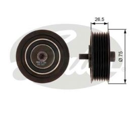 GATES Tensioner Pulley: T36262