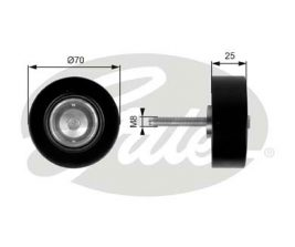 GATES Tensioner Pulley: T36263
