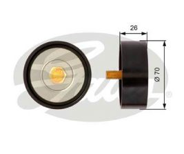 GATES Tensioner Pulley: T36307