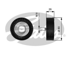 GATES Tensioner Pulley: T36367