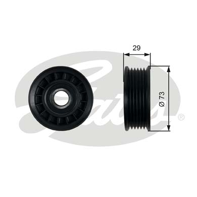 GATES Tensioner Pulley: T36398