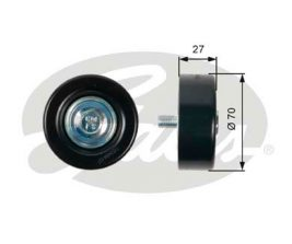 GATES Tensioner Pulley: T36409
