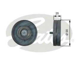 GATES Tensioner Pulley: T36436