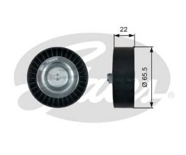 GATES Tensioner Pulley: T36458