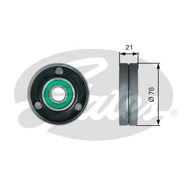 GATES Tensioner Pulley: T36730