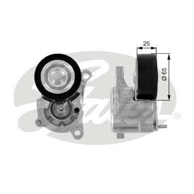 GATES Tensioner Pulley: T38206