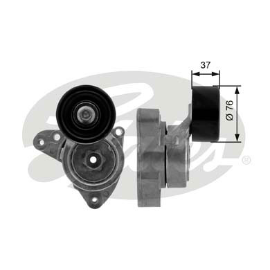 GATES Tensioner Pulley: T38278