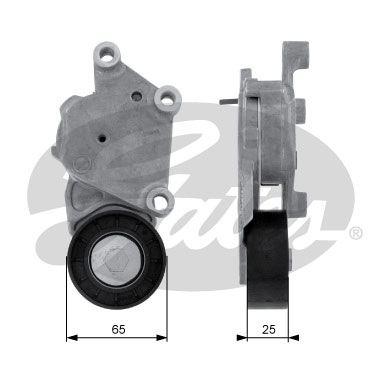GATES Tensioner Pulley: T38331