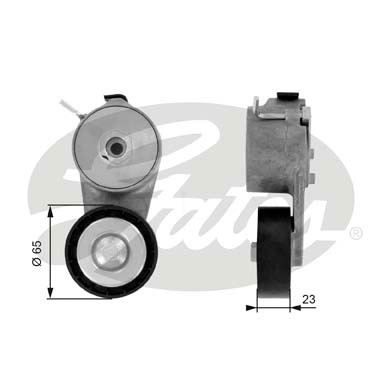 GATES Tensioner Pulley: T38368