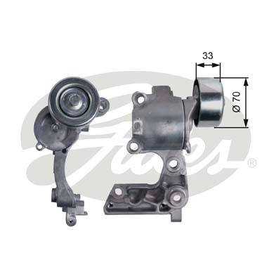 GATES Tensioner Pulley: T38411