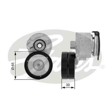 GATES Tensioner Pulley: T38428