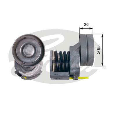 GATES Tensioner Pulley: T39023