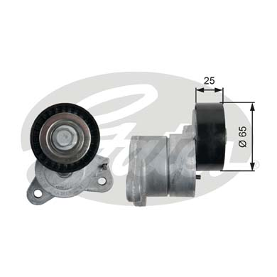 GATES Tensioner Pulley: T39053