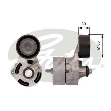 GATES Tensioner Pulley: T39108