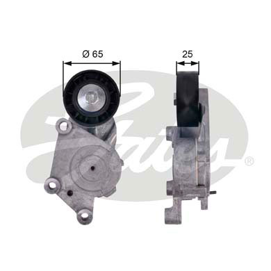 GATES Tensioner Pulley: T39125