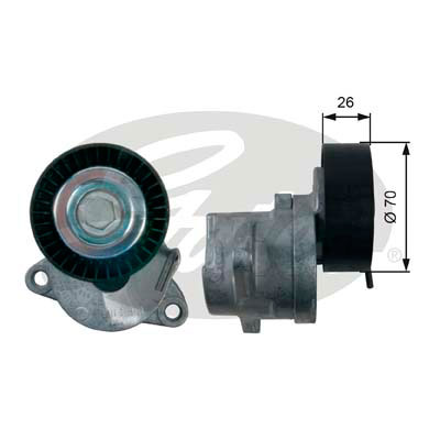 GATES Tensioner Pulley: T39164