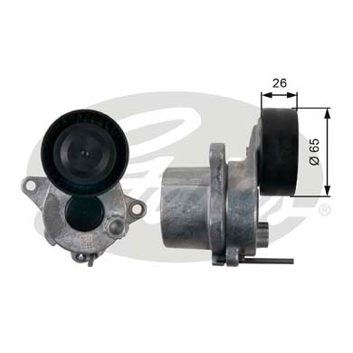 GATES Tensioner Pulley: T39165