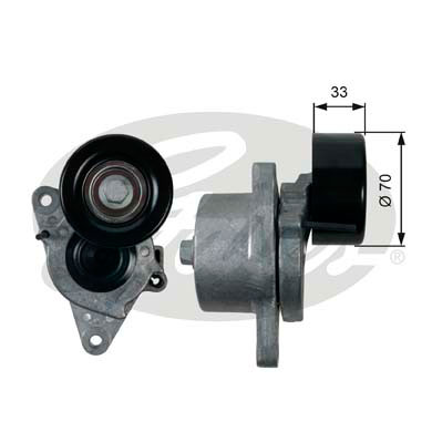 GATES Tensioner Pulley: T39170