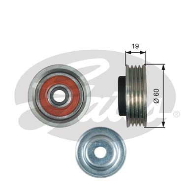 GATES Tensioner Pulley: T39181
