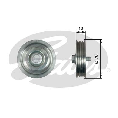 GATES Tensioner Pulley: T39183