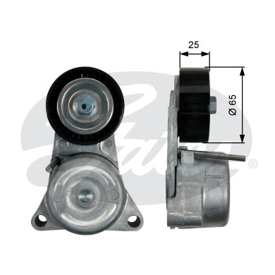 GATES Tensioner Pulley: T39194