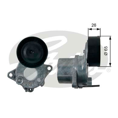 GATES Tensioner Pulley: T39197