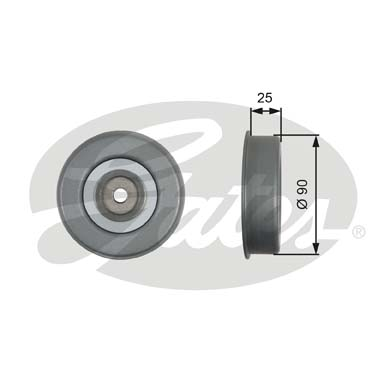 GATES Tensioner Pulley: T39245