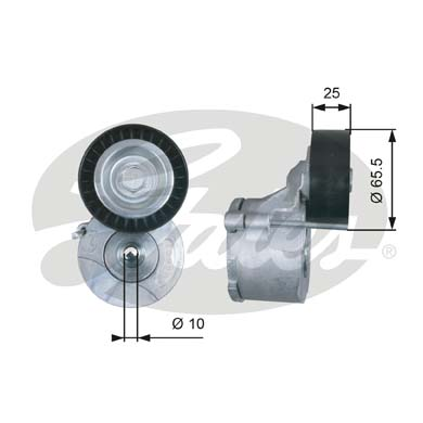 GATES Tensioner Pulley: T39281