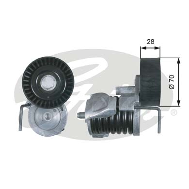 GATES Tensioner Pulley: T39287