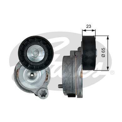 GATES Tensioner Pulley: T39290