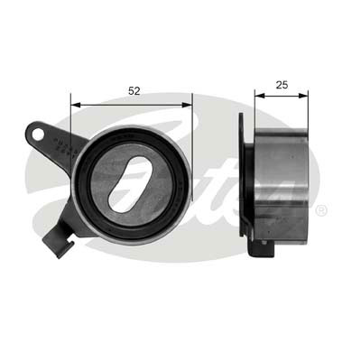 GATES Tensioner Pulley: T41031