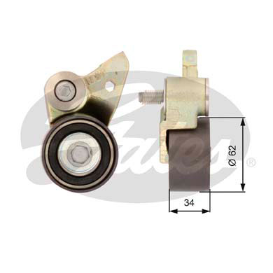 GATES Tensioner Pulley: T41097