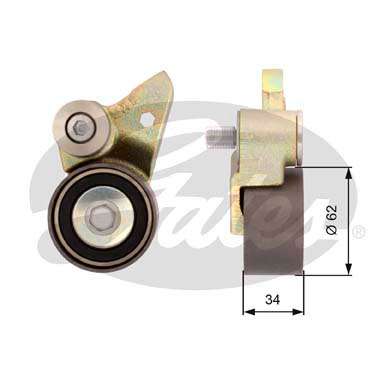 GATES Tensioner Pulley: T41098
