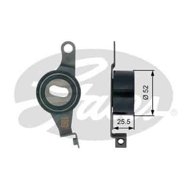 GATES Tensioner Pulley: T41145