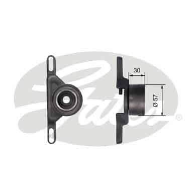 GATES Tensioner Pulley: T41147