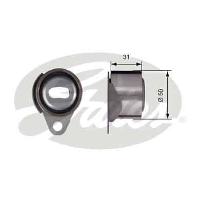 GATES Tensioner Pulley: T41157