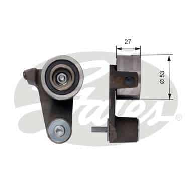 GATES Tensioner Pulley: T41165