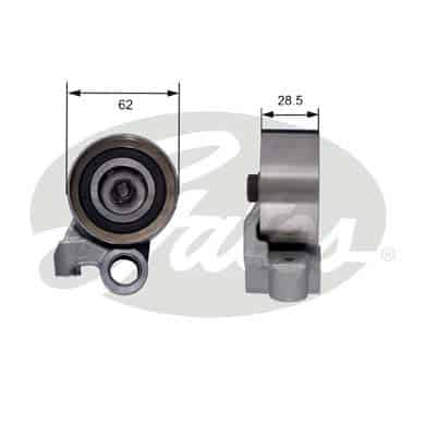 GATES Tensioner Pulley: T41183