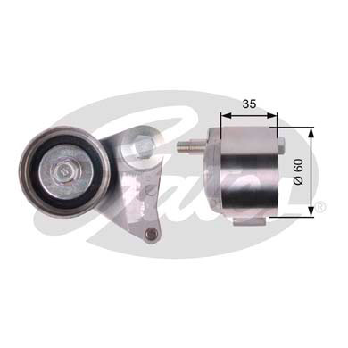 GATES Tensioner Pulley: T41309