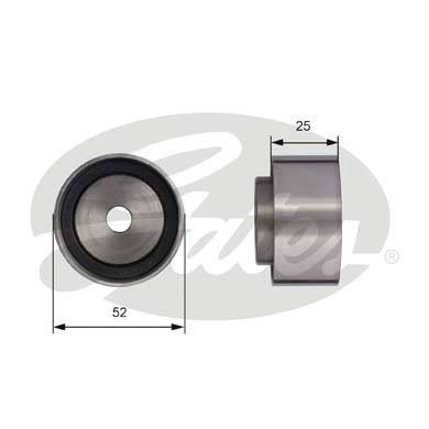 GATES Tensioner Pulley: T42005