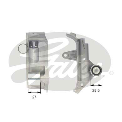 GATES Tensioner Pulley: T43025