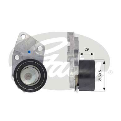 GATES Tensioner Pulley: T43039