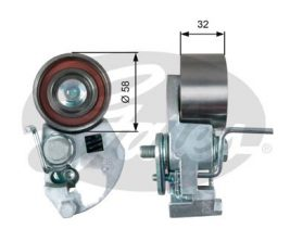 GATES Tensioner Pulley: T43133