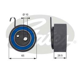 GATES Tensioner Pulley: T43144