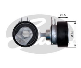 GATES Tensioner Pulley: T43149