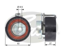 GATES Tensioner Pulley: T43171