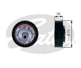 GATES Tensioner Pulley: T43225